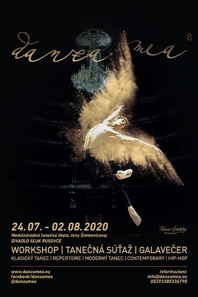poster danza mea 2020